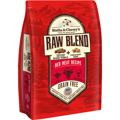 Stella & Chewys RAW BLEND RED MEAT 22LB