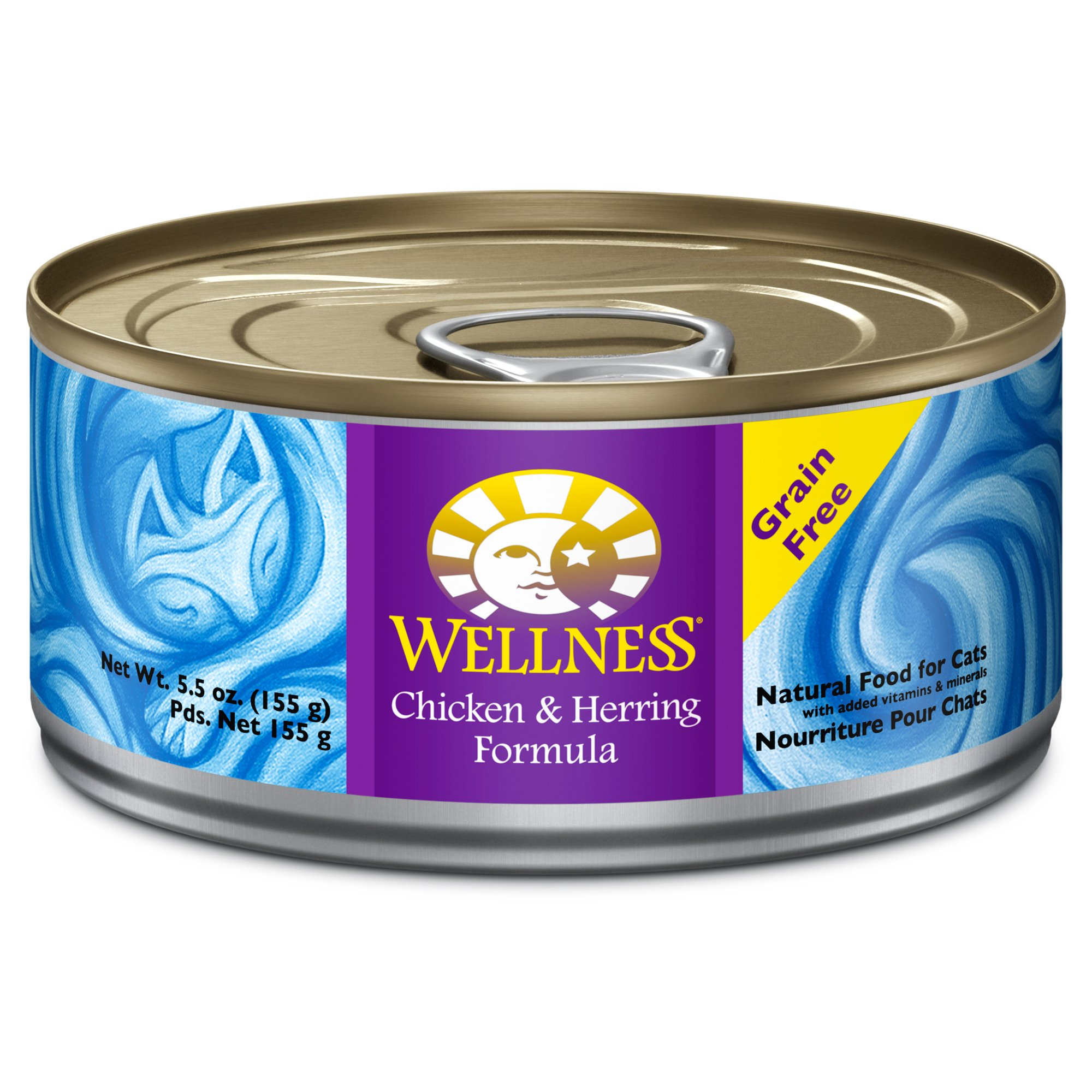 WELLNESS CHKN/HERR 5.5OZ 24 Count Case