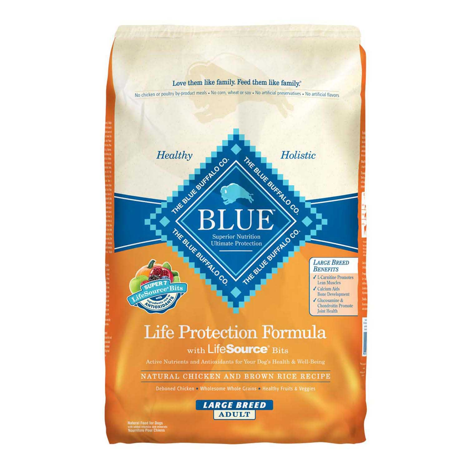 Blue Buffalo Large Breed Adult Chicken 30lb