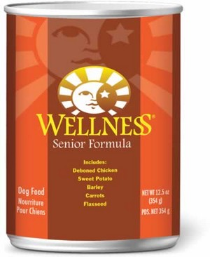 Wellness Senior 12.5oz Canned Dog Food, Case of 12