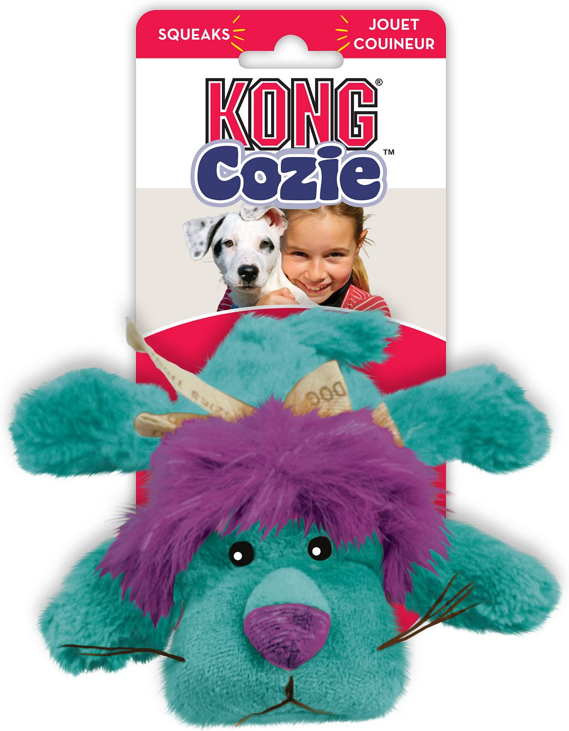 Kong Cozie King Lion Dog Toy Small