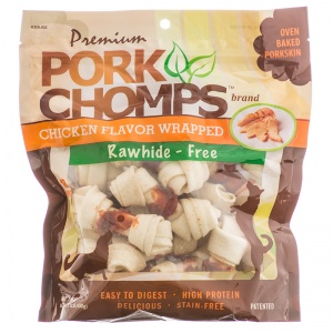 Pork Chomps Premium Chicken Mini Knot