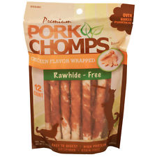 PORK CHOMPS  PREM CHKN TWIST 12CT