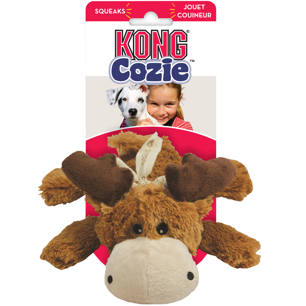 Kong Cozie Marvin Moose Dog Toy Small