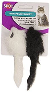 Ethical Twin Mice Black/White 2pk