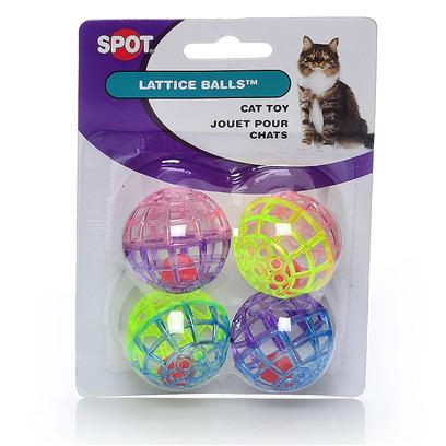Ethical Lattice Balls with Bells 4pk