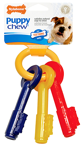 Nylabone Just for Puppies Teething Keys Small