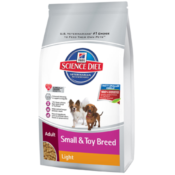 Science Diet Small Breed Light 4.5lb