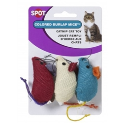 Ethical Burlap Mice 3pk