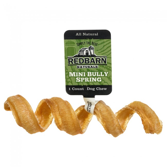 Redbarn Mini Bully Springs Dog Treats