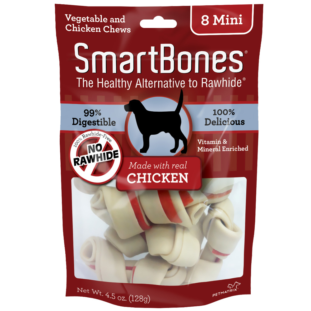 Smart Bone Chicken Mini, 8 Count Package