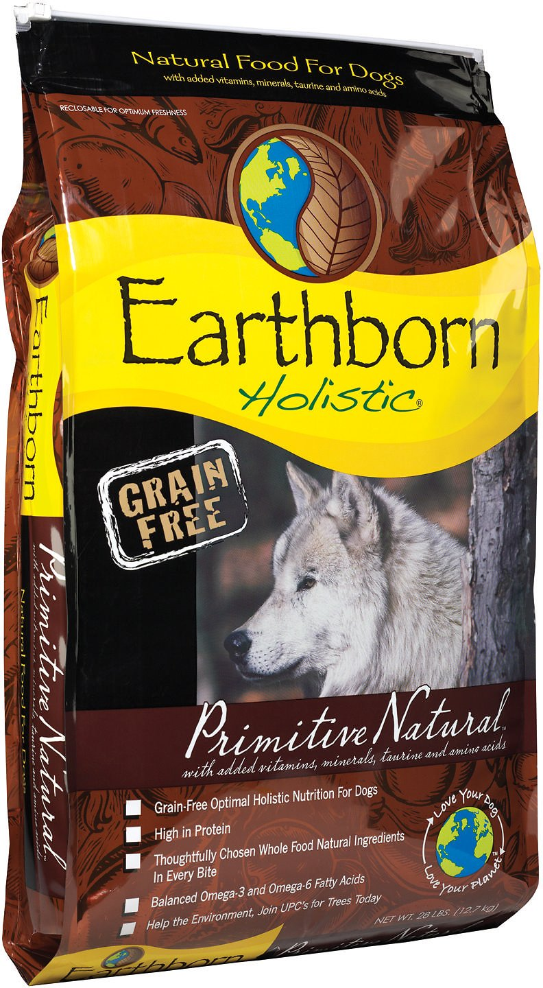 Earthborn Holistic Grain Free PRIM NAT 28LB