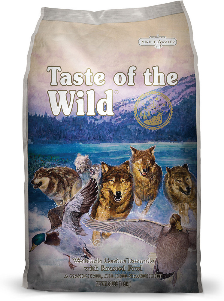 Taste Of The Wild WETLANDS WILD FOWL 30LB