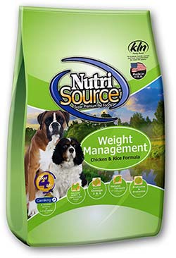 Nutri Source Weight Management Dry Dog Food 30lb