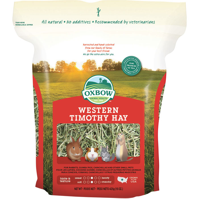 Oxbow Western Timothy Hay Small Animal Food 15oz