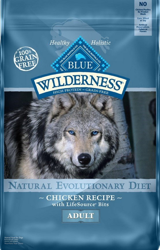 Blue Buffalo Wilderness CHKN ADLT 24LB