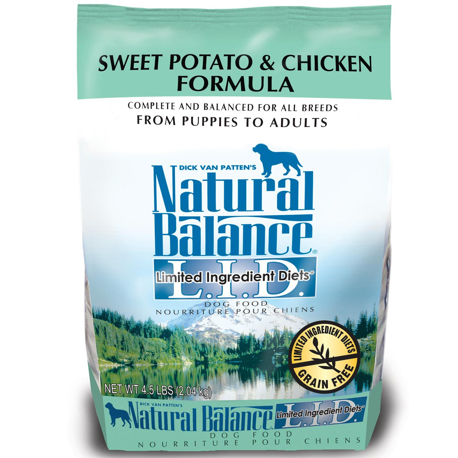 Natural Balance SWEET POTATO & CHICK 26 LBS