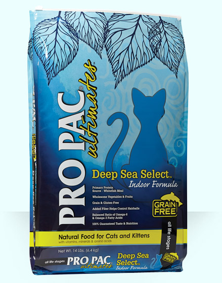 Pro Pac Ultimates Grain Free Deep Sea Indoor Whitefish, 5lb