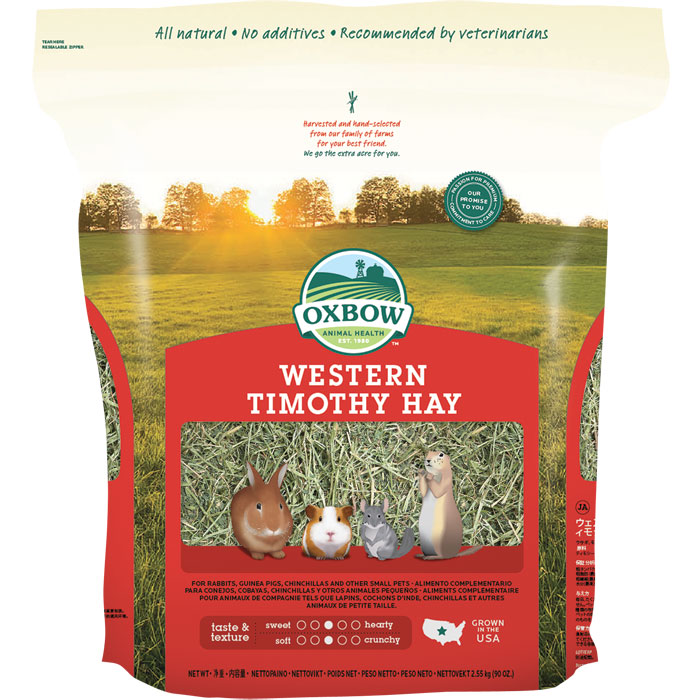 Oxbow Western Timothy Small Animal Hay 90oz