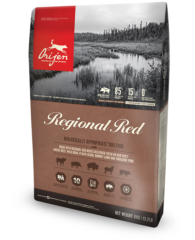 Orijen Regional Red Grain Free Dry Dog Food 25LB