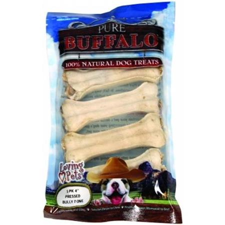 Loving Pet 4 Pressed Bully Bone 5ct