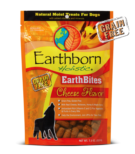 Earthborn EarthBites Cheese Treats 7.2oz