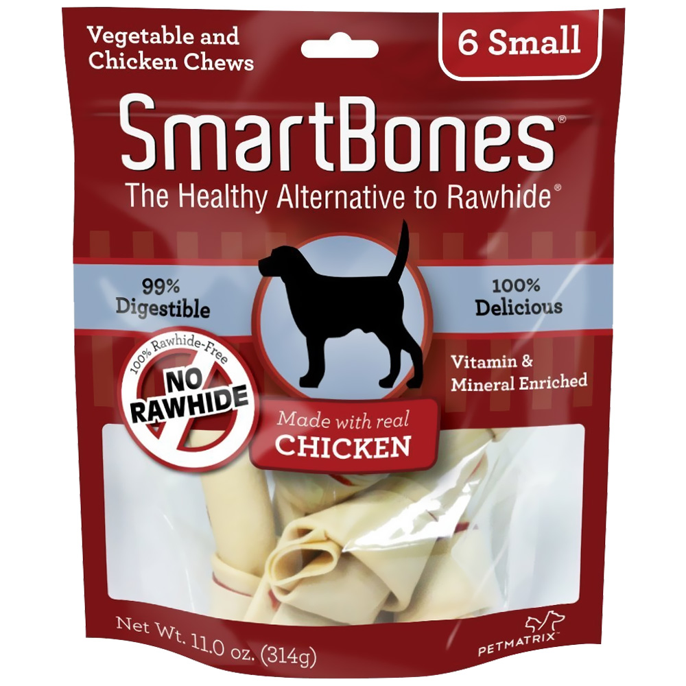 Smart Bone Chicken Small, 6 Count Package