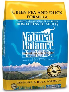 Natural Balance LID Duck & Pea Cat 5lb