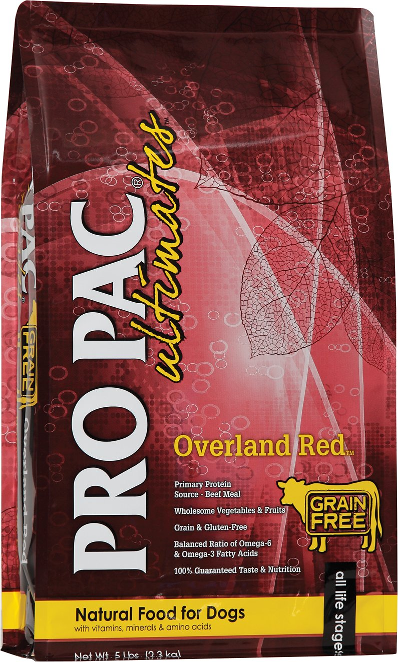 Pro Pac Ultimates Grain Free OVERLAND BEEF 28LB