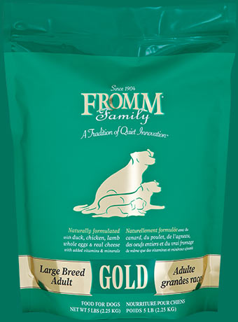 Fromm Adult Gold Large Breed Formula Dry Dog Food 33lb