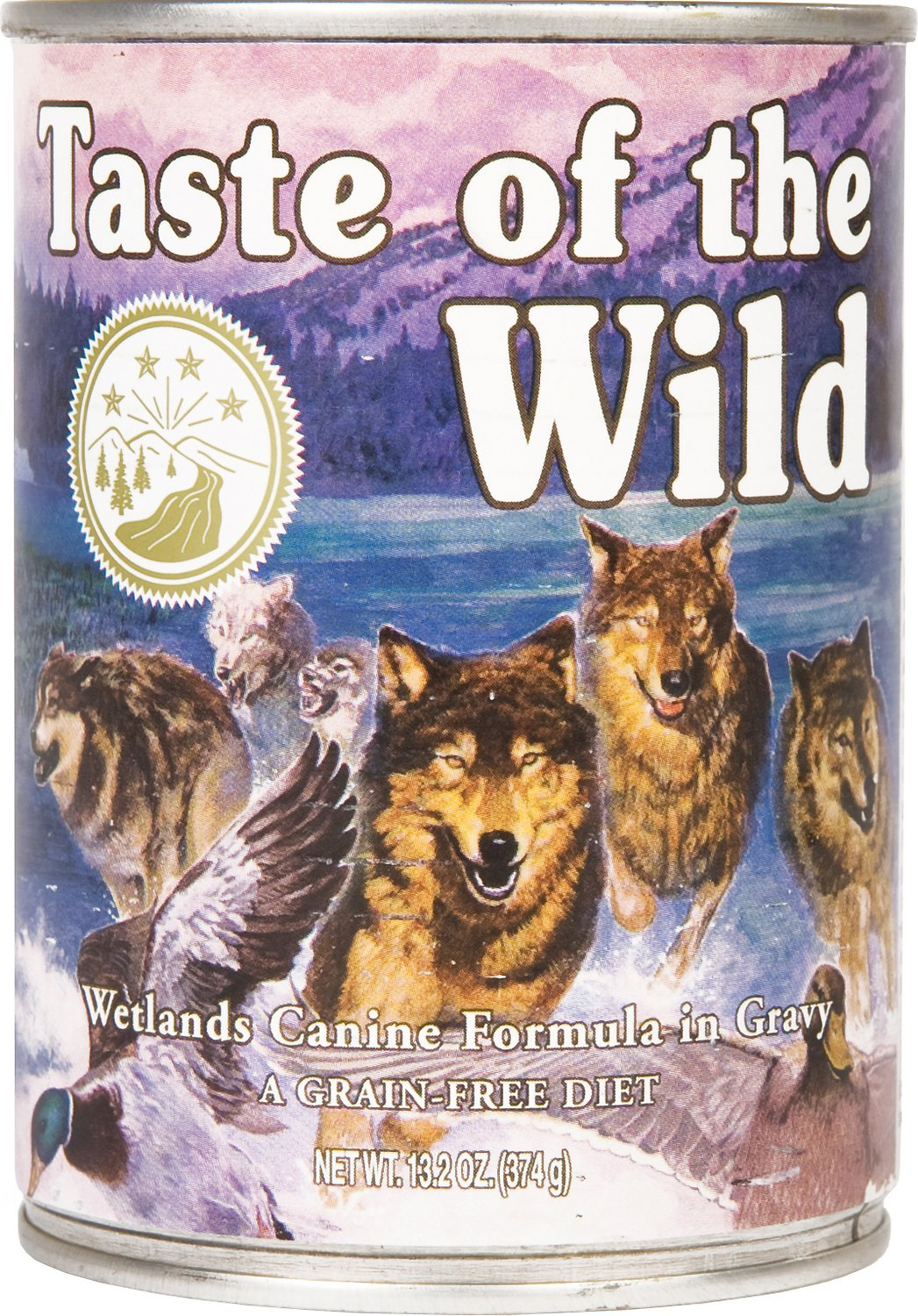 Taste of The Wild WETLANDS CANINE 13.2OZ 12 Count Case