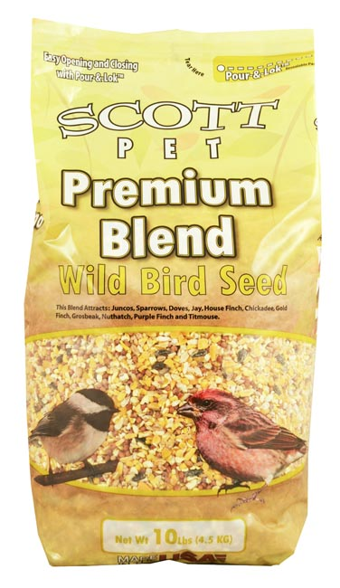 Scott Pet Seed Premium Wild Bird Polybag