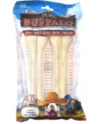 Loving Pet 6 Pressed Bully Bone 2ct