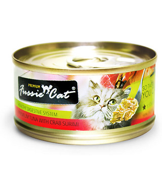 Fussie Cat Tuna & Carb Surimi 2.8oz, 24 Count Case