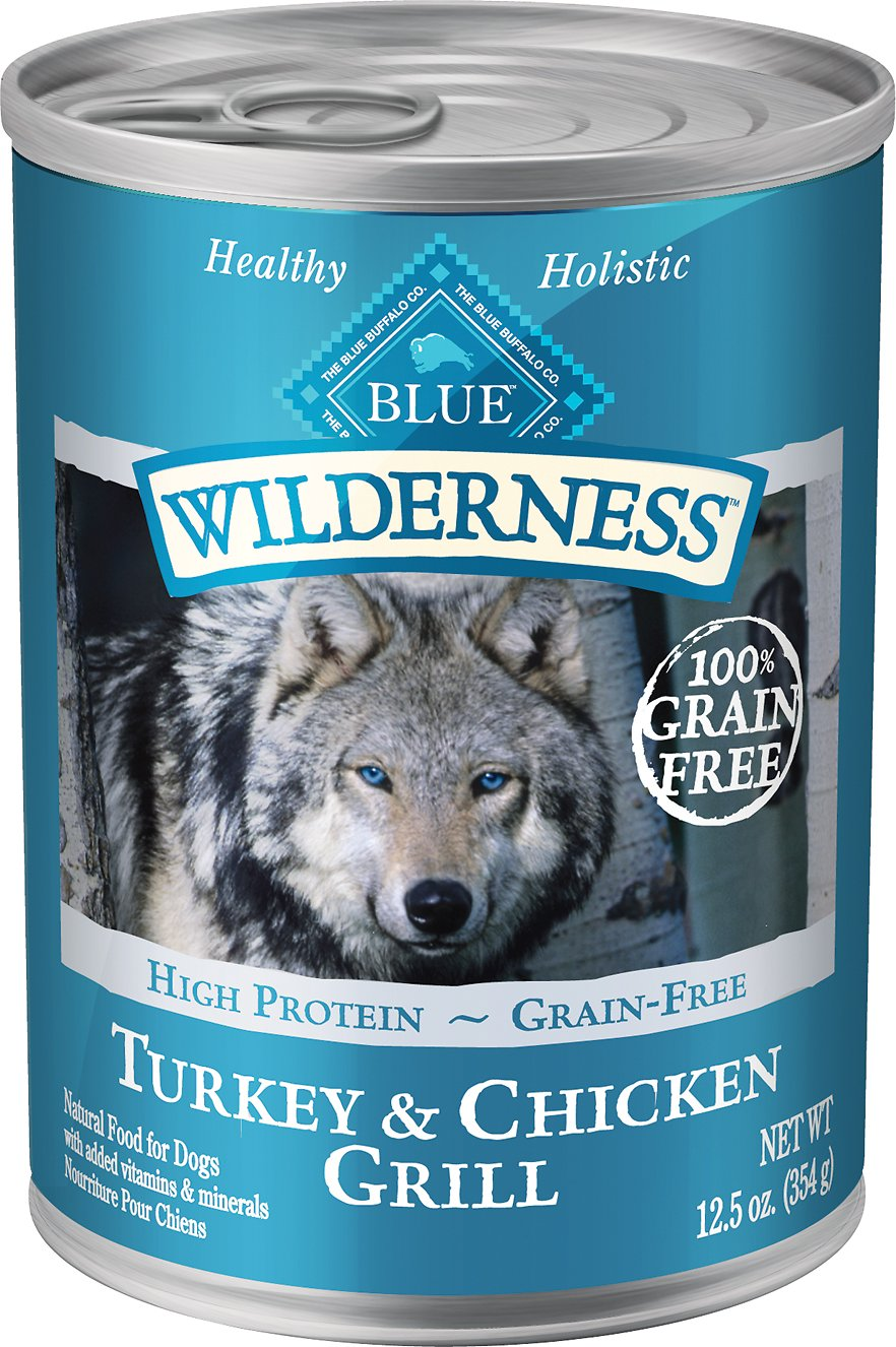 Blue Buffalo Wilderness Turkey & Chicken 12.5OZ 12 Count Case