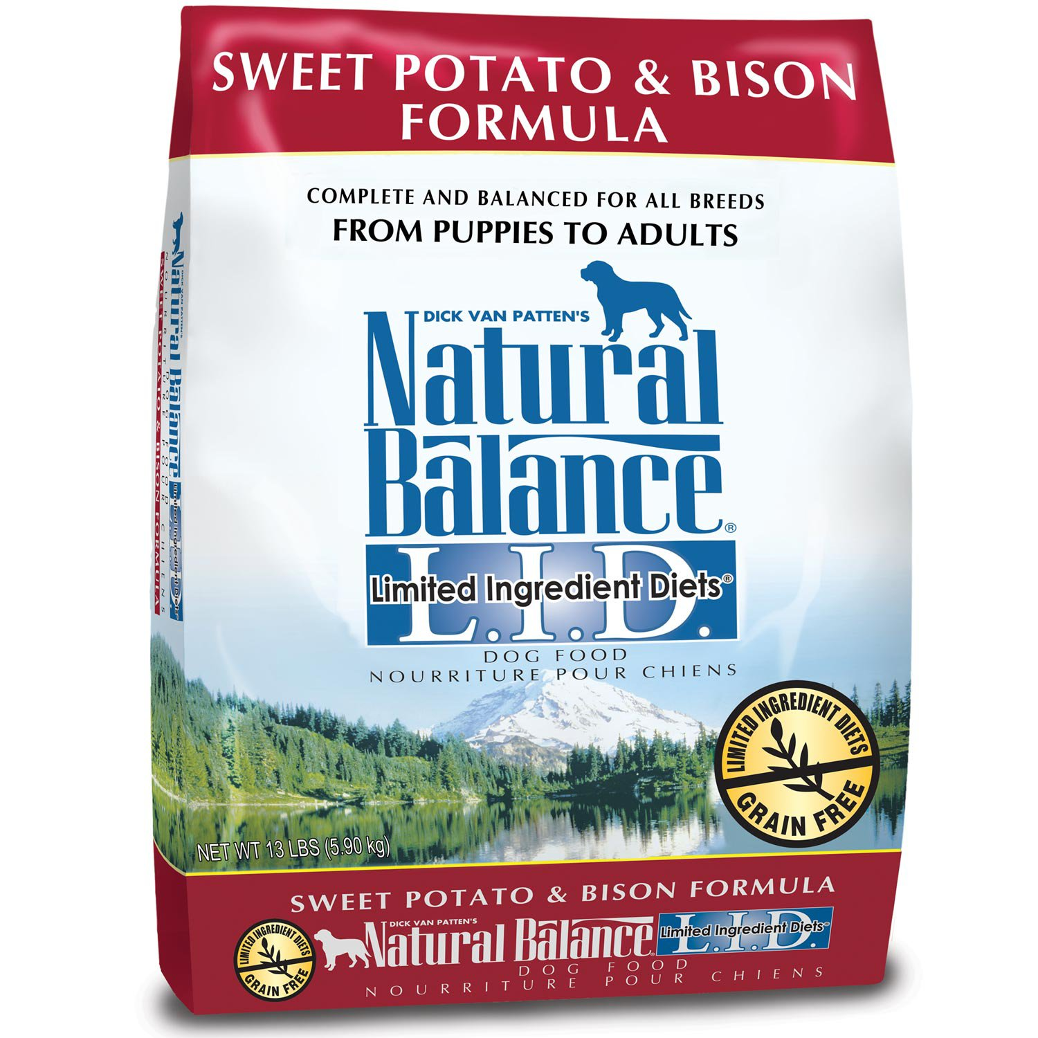 Natural Balance LID Sweet Potato & Bison 26lb