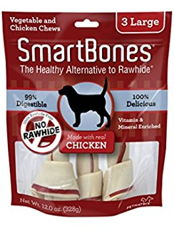 Smart Bone Chicken Large, 3 Count Package
