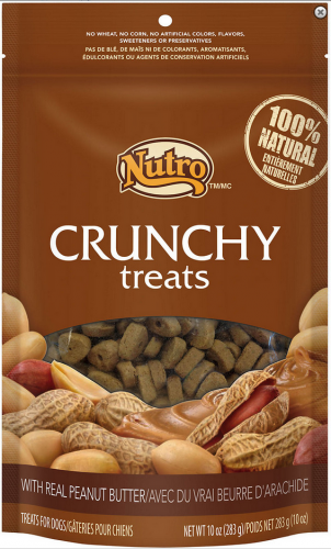 Natural Choice Crunchy Peanut Butter Dog Treats 10oz