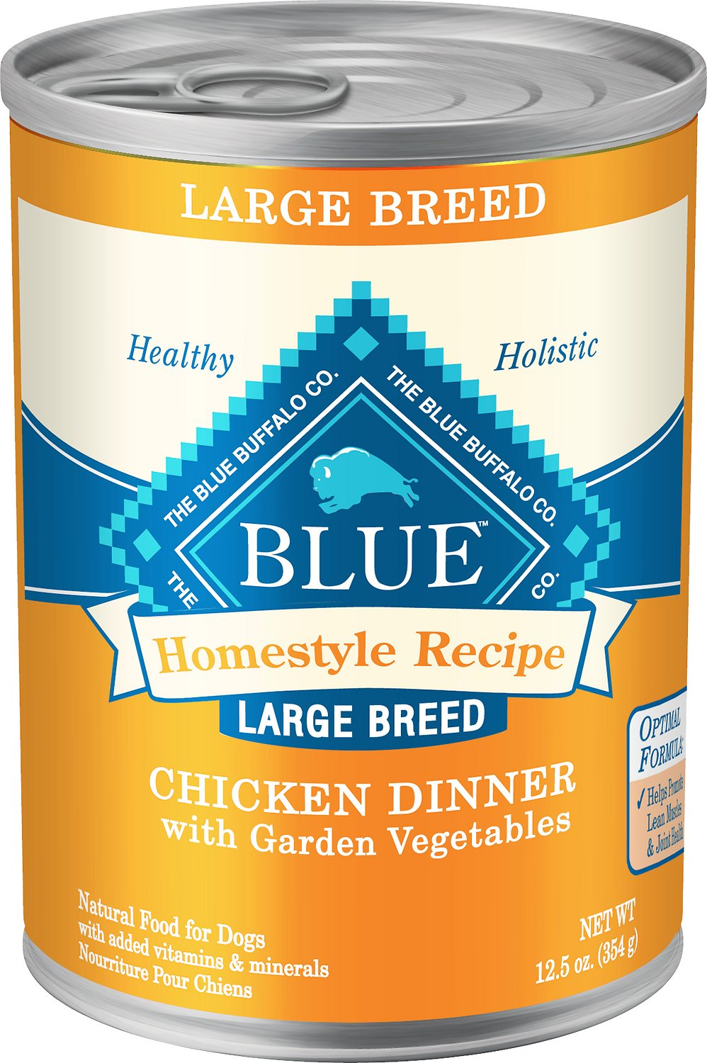 Blue Buffalo Large Breed Chicken Dinner 12.5OZ 12 Count Case