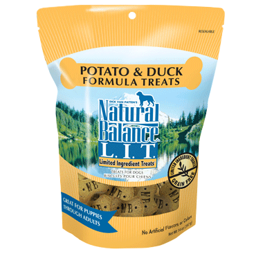 Natural Balance Limited Ingredient Duck & Potato Formula Dog Treats 14oz