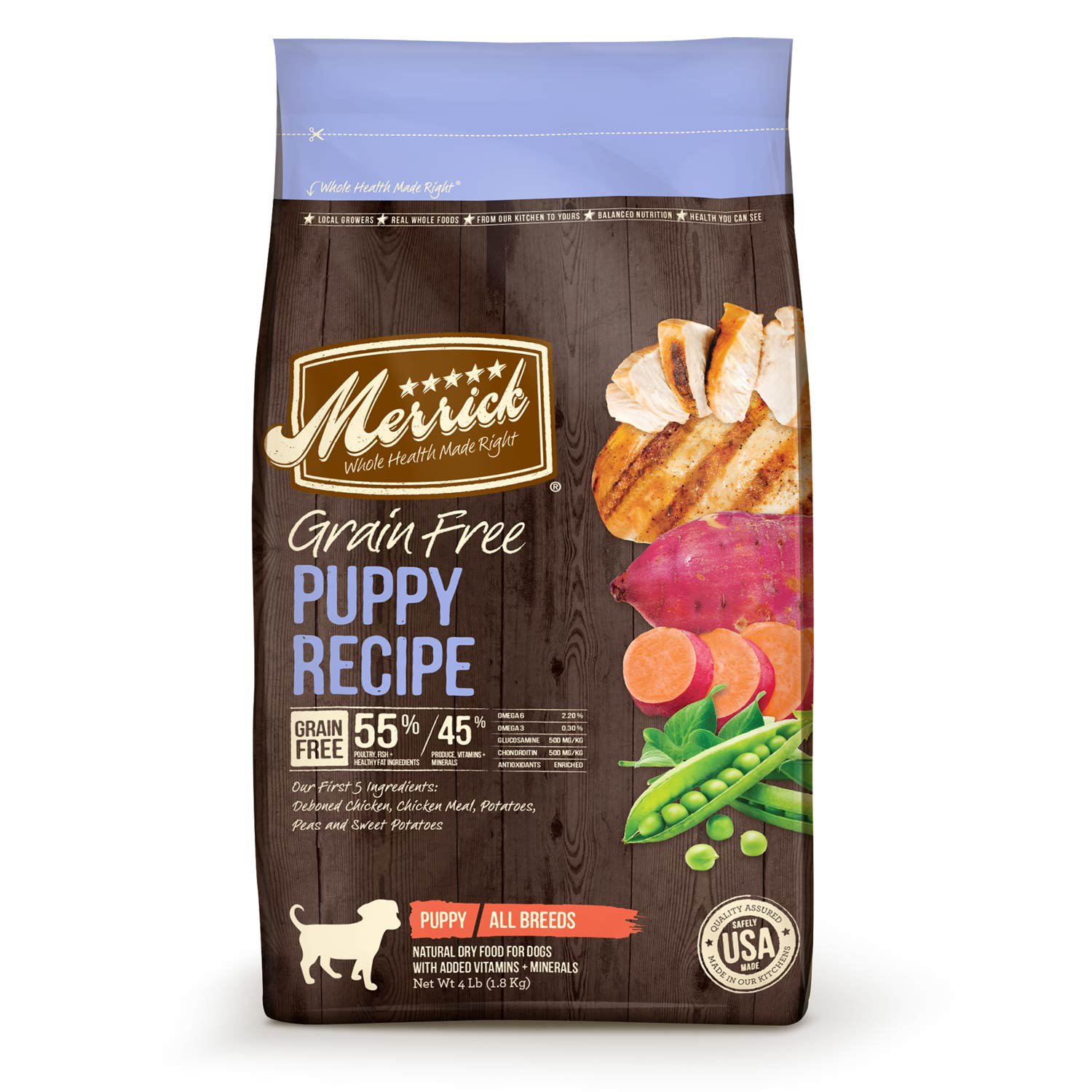 Merrick Grain Free Chicken Puppy 4lb