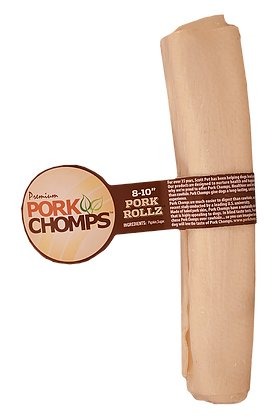 Pork Chomps Natural Retriever Roll 8-10in