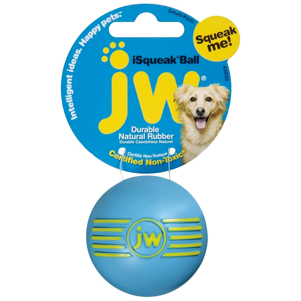 JW PET SQUEAKY BALL SM