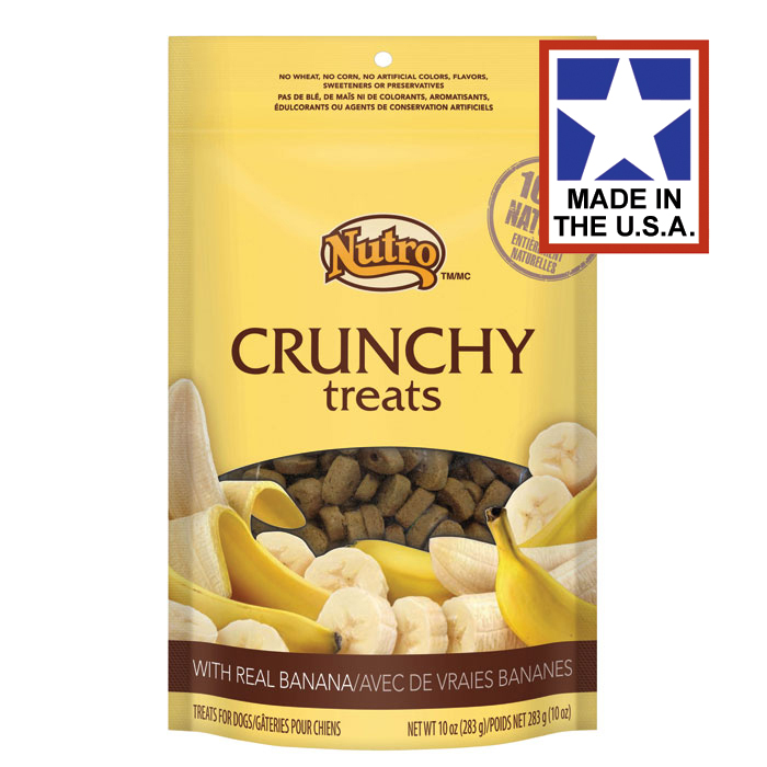 Natural Choice Crunchy Real Banana Dog Treats 10oz