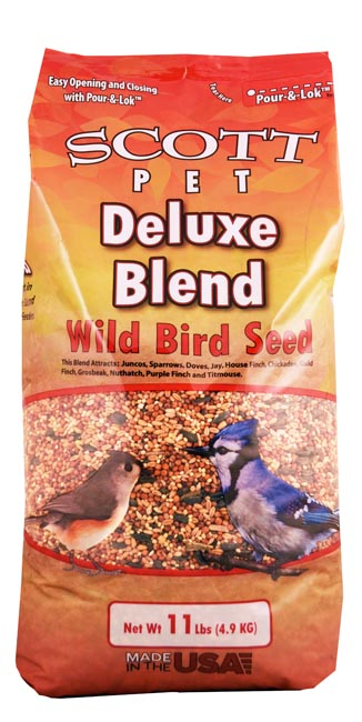 Scott Pet Deluxe Wild Bird Mix 11 lb Bag