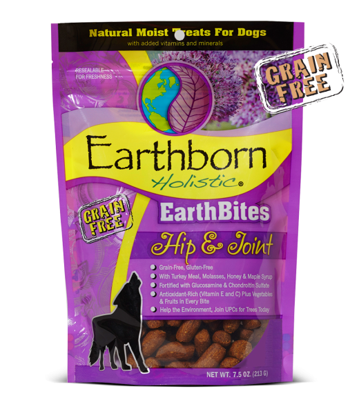 Earthborn EarthBites Hip and Joint Treats 7.2oz