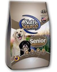Nutri Source Chicken and Rice Senior Dog Food 30lb