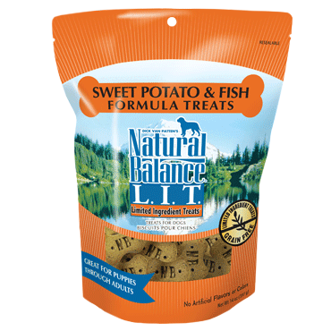 Natural Balance Limited Ingredient Sweet Potato & Fish Formula Dog Treats 14oz