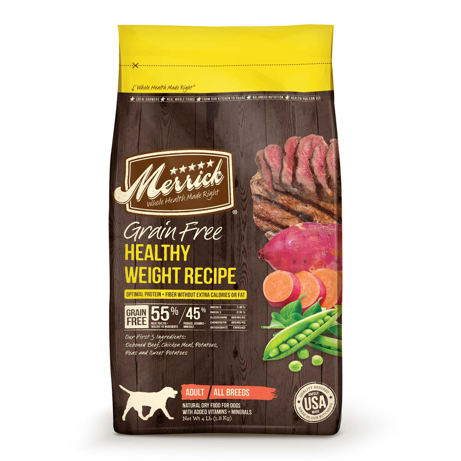 Merrick Grain Free Healthy Weight 22lb
