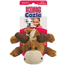Kong Cozie Marvin Moose Dog Toy Medium